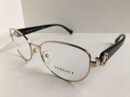 New Versace 12B46 1332 Gold 52mm Women's Eyeglasses Frame Italy #2 - $199.99