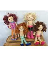 "Groovy Girl Dolls 13"" Anya Andie Reese Corbin Manhattan Toy Lot of 4 - $22.10"