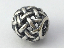 Authentic Pandora Sterling Silver Forever Entwined Bead Charm 790973 New - $30.39