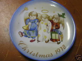 NIB-Schmid HUMMEL Collector Plate CHRISTMAS 1978..........FREE POSTAGE USA - $17.89