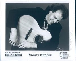 Photo Brooks Williams Green Linnet Records Musician Portrait Handsome 8x10 - $18.55