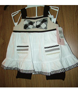 Kids Headquarters, Baby Girl  2 Pc Set Sleeveless Top&Capri, Size18 Mont... - $15.83