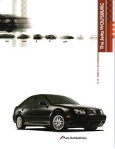 2003 Volkswagen JETTA WOLFSBURG Edition sales brochure catalog sheet 03 VW - $9.00