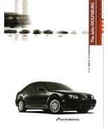 2003 Volkswagen JETTA WOLFSBURG Edition sales brochure sheet 03 VW - $8.00
