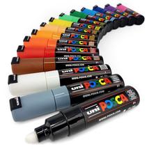 Uni POSCA PC-7M Paint Marker Art Pen - Large Bullet Nib - Full Range Set of 15 - $82.64