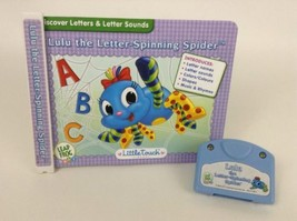 Leap frog LeapPad Little Touch LULU the Letter-Spinning Spider Book & Ca... - $8.86