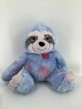"Plush Sloth Blue Pink Big Glitter Eyes 20"" Stuffed Animal Toy - $9.49"