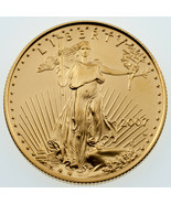 2007-W G$25 1/2 Oz. Burnished Gold American Eagle in BU Condition - $1,069.19