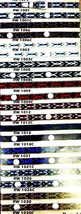 Western HATBAND with Buckle Set Multi-Colored List#1 Cowboy/Cowgirl Hat ... - €8,75 EUR+