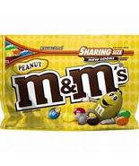 M&M'S Peanut Milk Chocolate Candy Sharing Size Bag, 10.7 Oz - $5.00