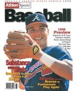 Chipper Jones unsigned Atlanta Braves Athlon Sports 1998 MLB Baseball Pr... - $10.00