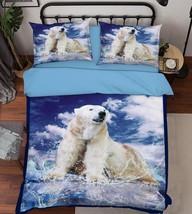 3D Sea Dog 309 Bed Pillowcases Quilt Duvet Cover Set Single Queen King Size AU - $64.32+