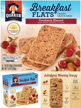 Quaker Baked Flats, Cranberry Almond, 5-3 Bar Packs (Pack Of 8) - $54.64