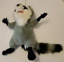 "Vintage 1995 Mattel Plush Raccoon Meeko Disney Pocahontas 13"" Stuffed An... - $16.53"