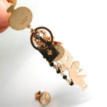 Drop Earrings Silver 925, Alice, Cards, Rabbit, Cat, Key, le Favole image 3