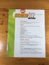 Nick Scene It? Replacement Parts Pieces Rules Instructions Game Long Box - $10.18