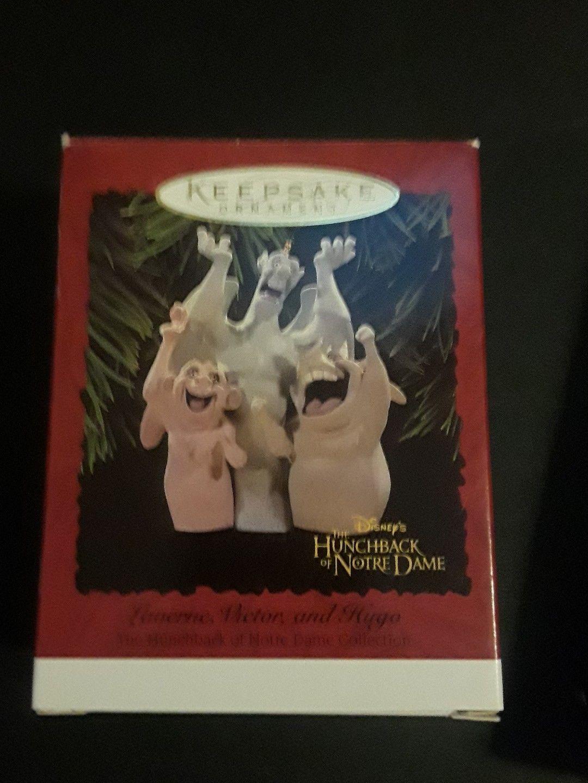 Hallmark Disney Ornament Hunchback of Notre Dame Laverne Victor and Hugo Holiday