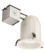 2-Pack Juno White LED Remodel or New Construction Recessed Light Kit w/ ... - $29.95