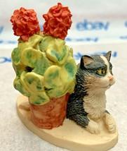"Lowell Davis ""Sun Worshipper"" Figurine 1989 Schmid Cat 223621 Friend Of Mine - $32.16"