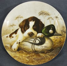 Dog Tired The Springer Spaniel Collector Plate Field Puppies Lynn Kaatz Dog - $21.95