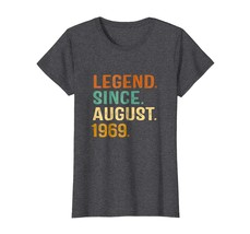 Brother Shirts - Retro Vintage Since August 1969 - 49th Birthday Gift T-Shirt Wo - $19.95+