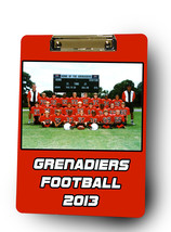 Personalized Custom Football Coach Dry Erase Clipboard  - $28.95