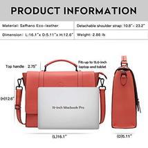 Laptop Briefcase for Women 15.6 Inch Business Computer Bag Satchel Bag Laptop Me image 5
