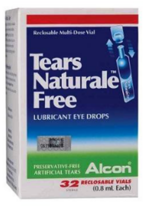 4 x ALCON TEARS NATURALE 0.8ml X 32 Vials FREE Lubricant Eye Drops Each  - $49.46