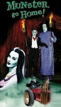 """The Munsters """"Munster Go Home"""" Magnet - $7.99"""