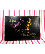 Amazing 1940's NEW OLD Stock • Lil' Black Mambo Luncheon Set • Peggy of ... - $48.00