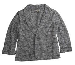 Maison Jules, Women's, Blazer Sweater, Gray Combo Sz. Small - $31.48