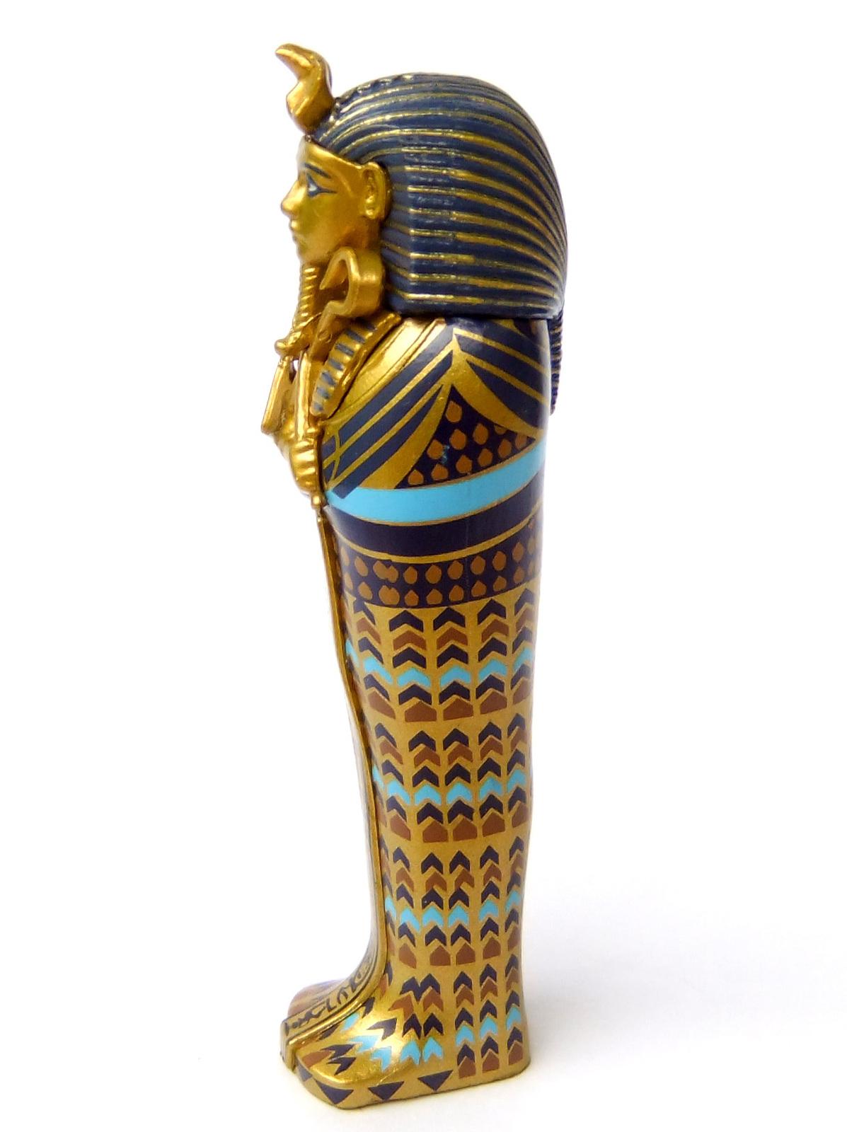 5 Ancient Egyptian Pharaoh Tutankhamun Gold Mask Coffin Akhenaten Nefertiti Bust