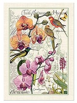 Michel Design Works Cotton Kitchen Dish Towel, Orchids in Bloom - $13.64