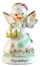 Napco A1368SK August birthday month girl angel ... - $30.00