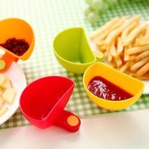 Clip Cup Ketchup Jam Salad Sauce Dip Bowls Home Kitchen Tableware Access... - £5.23 GBP