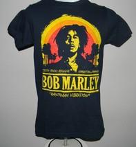 NEW MENS BOB MARLEY SMALL T SHIRT ROOTS ROCK REGGAE KINGSTON JAMAICA RAS... - $22.72