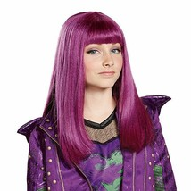 Disney's Descendants 2 Mal Child Costume Purple Wig - $9.90