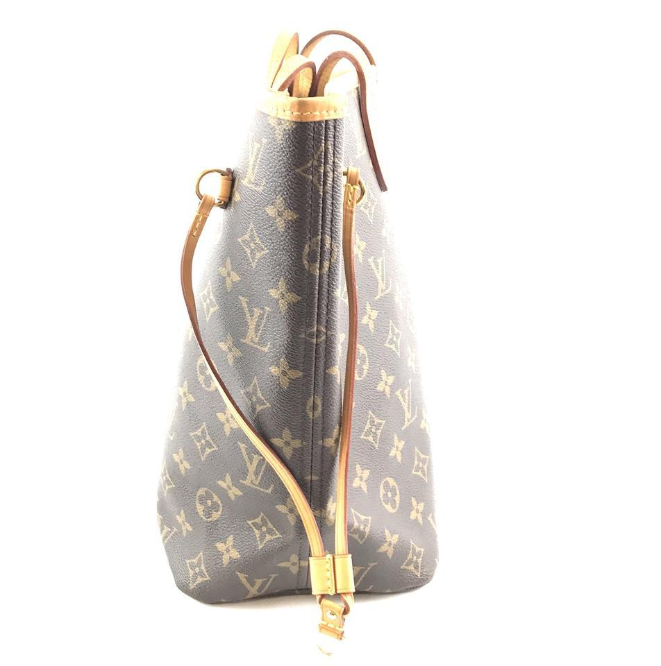 #33306 Louis Vuitton Neverfull Neo New Model Mm Tote Everyday Work Shoulder Bag image 7