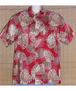Ron Chereskin Hawaiian Shirt Red Large - $18.99