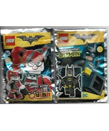 Batman Minifigure & Harley Quinn Limited Edition Foil Pack - 2018 - $19.79