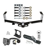 """Trailer Hitch & 7Way Wiring For 07-19 Toyota Tundra + 2-5/16"""" Ball 2"""" Dr... - $235.37"""
