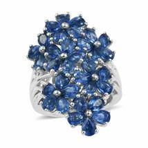 6.90 Ct Pear Shape Diamond 925 Silver 14k White Gold Finish Wedding Flo... - $120.56