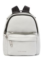 New with Tag - $295 Marc Jacobs Varsity Pack Small Light grey Leather Ba... - ₹9,872.00 INR