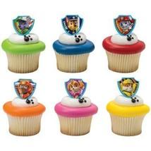 Paw Patrol Cupcake Topper Rings - Set of 12 - $9.85