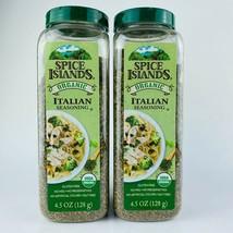 2-Pack Spice Islands Organic Italian Seasoning Gluten Free 4.5 oz/128 g ... - $23.02