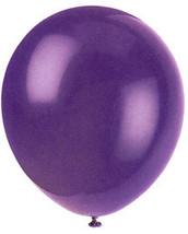 "144 Balloons - 12"" Latex Balloons - Purple - Birthday Party / Wedding / Luau / A - $16.95"