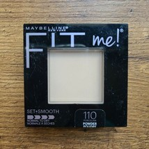 Maybelline Fit Me! Set + Smooth Normal To Dry Pressed Powder Pick Your Color - $6.99