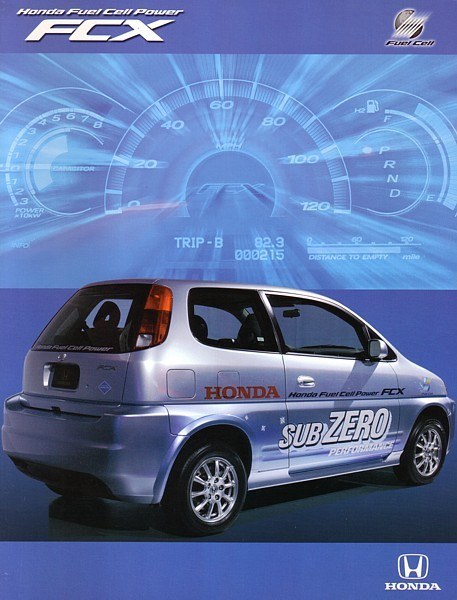Primary image for 2005 Honda FCX sales brochure catalog Hydrogen Fuel Cell US