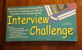 Franklin Learning Interview Challenge 1997 New Sealed Edicational Board Game - $79.19