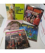 Lot of 5 SEALED and Unusual Albums LOT: Shirley Temple, Pac Man and More - $37.30